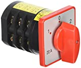 AC 380V 20A 4kw 3posizioni 3No + 3NC a scatto rotativo universale commutazione interruttore