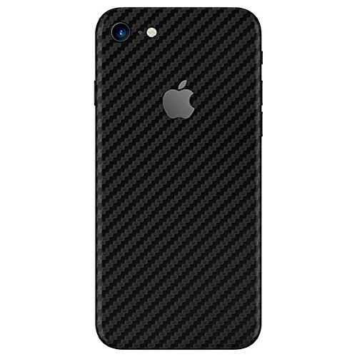 Gadgets Wrap 37-5FPJ-OL78 Carbon Fiber Skin Sticker for Apple iPhone 7 (Black)