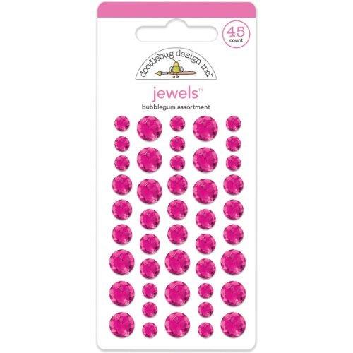 Doodlebug gioielli adesivi 45/Pkg-gomma da masticare
