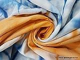 5 Meter Shibori Print Fabric Hand tie dy...