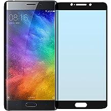 Cristal Templado Protector de Pantalla Para Xiaomi Mi Note 2 (Black)- NEVEQ® Vidrio Templado, el Xiaomi Mi Note 2 Full Screen Black (5.7 in) Pulgadas piel Protectora de la Cubierta.