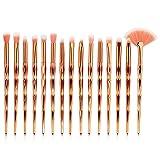 Usa pennelli e suggerimenti per la cura: 1.Asciugare accuratamente il pennello prima di utilizzarlo per applicare i prodotti. 2.I pennelli ben puliti creano i migliori risultati di trucco. Ti consigliamo di utilizzare un detergente per spazzo...