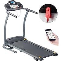 Newgen Medicals Heimtrainer-Laufband: Profi-Laufband mit App & Bluetooth, Pulsmesser, 12 Programme, 1.100 W (Gym-Laufband) preisvergleich bei fajdalomcsillapitas.eu