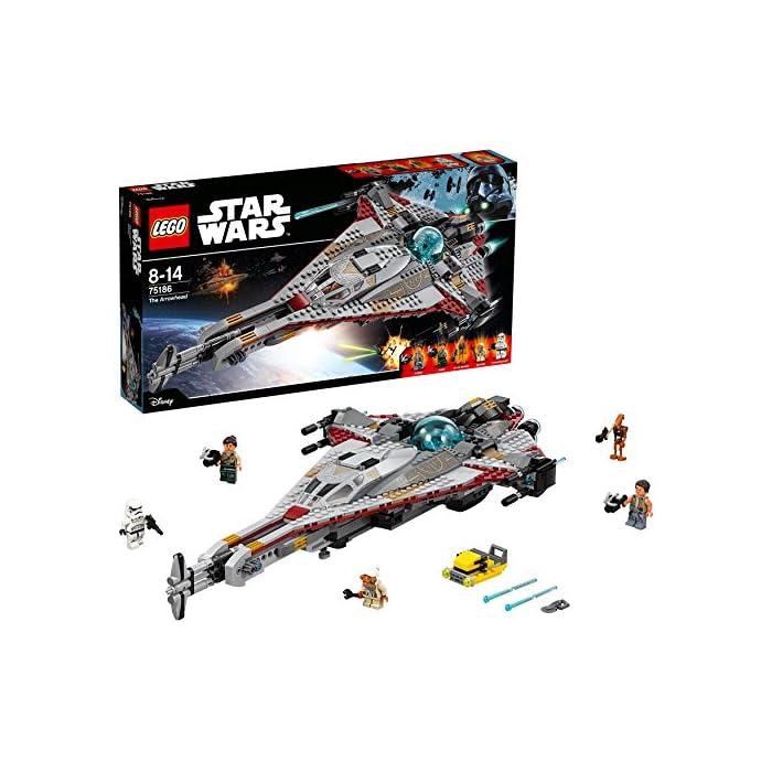 LEGO Star Wars 75186 - The Arrowhead Raumschiff Spielzeug 1