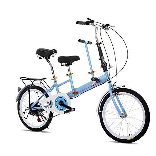 Desconocido KAHE2016 Bicicleta Plegable portátil