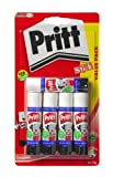 from Pritt Pritt 1483489 Glue Stick,Small(Pack of 5)-White Model 1483489