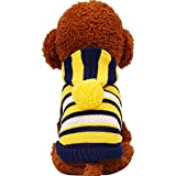PETCIRCLE Autumn Knitted Teddy Kitten Knitwear Coat Sweater For Small Medium Large Pet