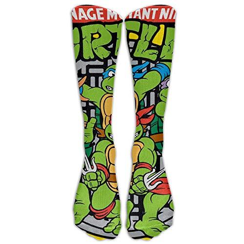 UFHRREEUR Unisex Teenage Mutant Ninja Turtles Tube Socks Knee High Sports