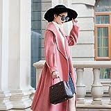 YGRDWTZ Wollmantel Double-Sided Lady Coat Mode