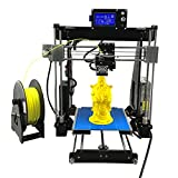 Stampante 3D ad alta precisione UNICUBIC U1, Kit stampante 3D non assemblato Prusa i3 DIY, Dimensione massima di stampa 210 * 210 * 225mm, Gratis 0,25 Kg Filament, 12 mesi di garanzia