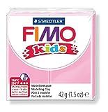 Staedtler 8030-25 - Fimo Kids Normalblock, 42 g, rosa