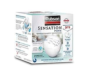 Rubson - 1554072 - Sensation Pure - Absorbeur d'Humidité - 3 en 1