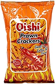 Oishi Prawn Crackers Sweet And Extra Hot - 60 gm