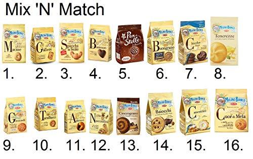 Preisvergleich Produktbild Mulino Bianco Kekse Mix & Match wählte 3 Kekse um Ihre Bestellung zu erstellen