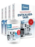 Cunea Reinigungset 80x Entkalkungstabletten & 150x Reinigungstabletten für Kaffeevollautomaten Kaffeemaschinen