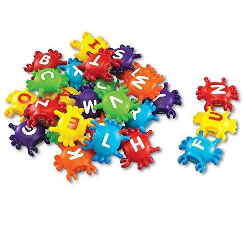Learning Resources Smart Splash Krabben BuchstabenSteckspiel,