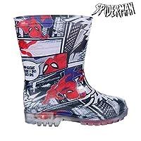 Cerdá Boys' Spiderman Wellington Boots, Red (Rojo C06), 1 UK 1UK Child