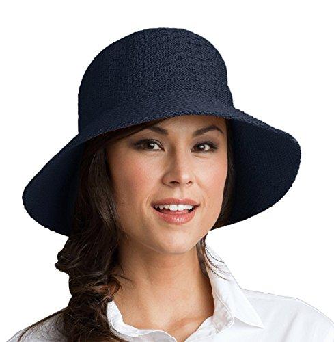 Coolibar Coolibar Damen UV-Schutz Sonnenhut Blau, OneSize