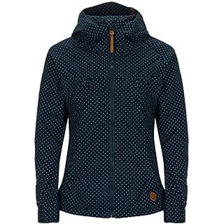Alife & Kickin Black Mamba Jacket Damen Uebergangsjacke, marine dots, L