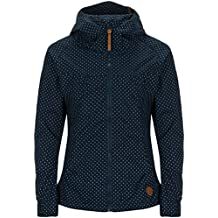 ac067b96dffe6c alife & kickin Damen Jacke BLACK MAMBA Übergangsjacke Jacket Windbreaker  Kapuze mit Punkten (verschiedene Farben