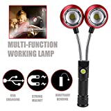 TAOtTAO Multifunktions tragbare COB Lampe Arbeitslicht Lampe Taschenlampe Magnetic Hot