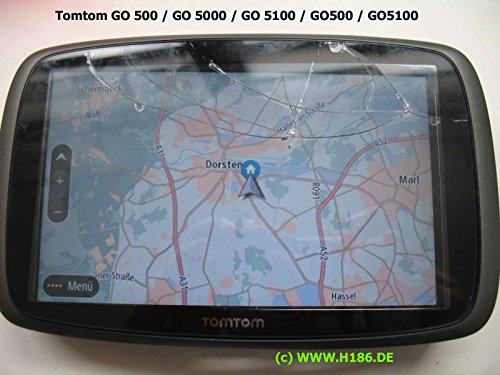 H186 REP_11 Kompatibel mit Tomtom GO 500/510 / 5000/5100 / 7250/5250 - Touchscreen Reparatur Navigation System Display