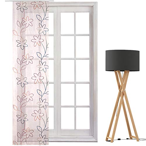 JEMIDI Flächenvorhang - Living- Schiebegardine Flächen Vorhang Raumtrenner Gardine Vorhang Schal (Design_154759_6819, Polyester)