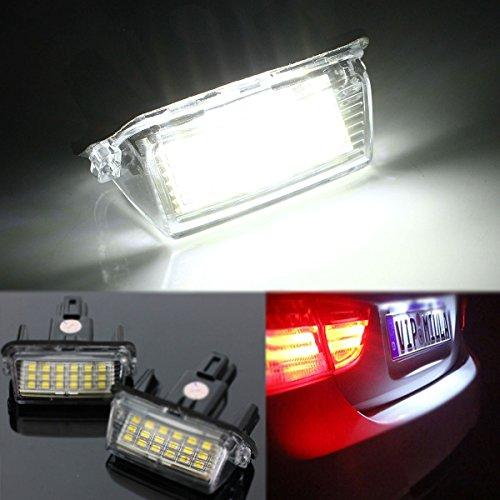 HANO 18s Lnse Nummernschild Auto Licht Lampe für Toyota Camry Yaris (Toyota Camry Lichter)