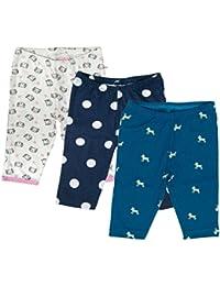 Sofie & Sam Bio-Baumwolle 3er Pack Combo 9-12 Monate Baby Schlafanzug Hosen Pajama
