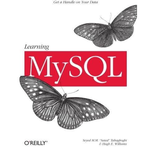 [(Learning MySQL )] [Author: Hugh E. Williams] [Nov-2006]