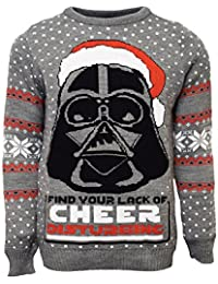 Darth Vader Official Star Wars Christmas Jumper / Sweater