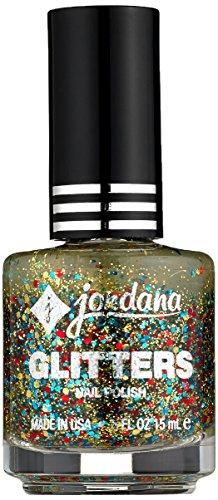 JORDANA Glitter Specialty Nail Polish - My Superstar