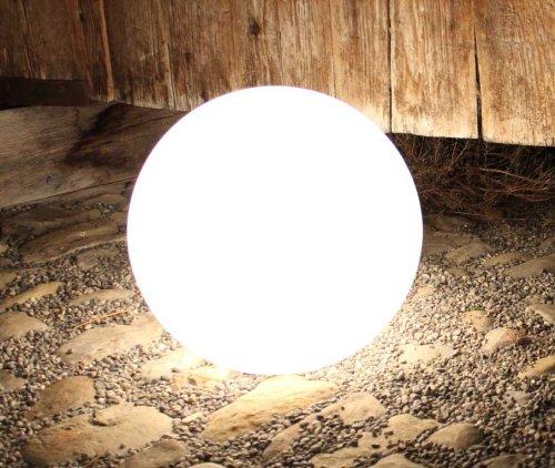 Kugelleuchte, Gartenkugel, GlowOrb white, 38cm Ø, 10475