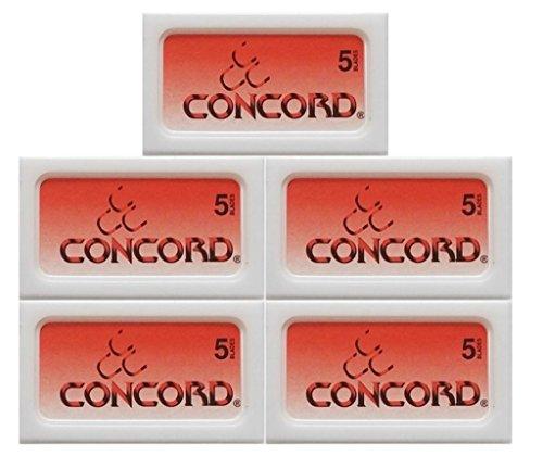 25 Concord Platinum Rasierklingen (Gillette Platinum)