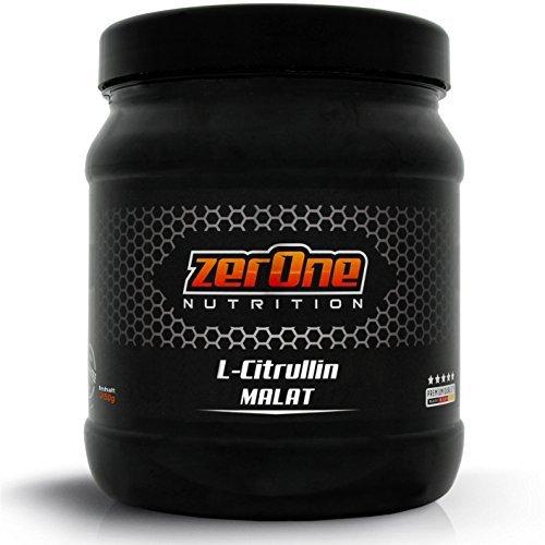 ZerOne Nutrition L-Citrullin Dl-Malat 250g Reines Hochdosiertes Pulver, Made in Germany steigert den Pump und die Durchblutung Pre Workout Booster -