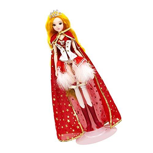 MagiDeal 1/6 Anime Konstellation Mädchen Figur Kostüm Minipuppe Spielzeug Perfekt als Weihnachtsgeschenke für Kinder - Löwe (Löwe Kostüm Mädchen)
