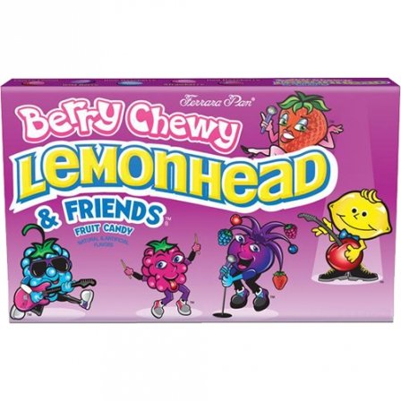 Berry Chewy Lemonhead and Friends 1.08 OZ (31g)