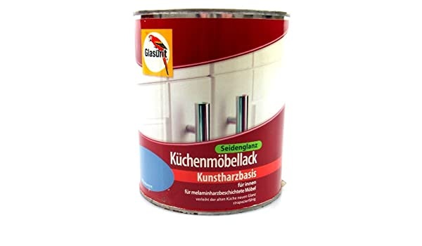 Küchenmöbellack glasurit küchenmöbellack seidenglanz 0 75l vanille amazon de