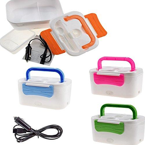Scaldavivande Elettrico da auto Portatile Lunch Box Schiscetta elettrica ideale per il pranzo Portapranzo termico con presa da accendisigari per auto 12V - Auto Lunch Box