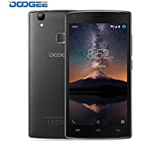 Cellulari in Offerta, DOOGEE X5 Max Pro Smartphone Android 6.0 - 4G 5.0 Pollici HD IPS Display Telefonia Mobile - 4000mAh Cellulare con 16GB ROM 2GB RAM - 8.0MP Fotocamera Digitale e Impronta