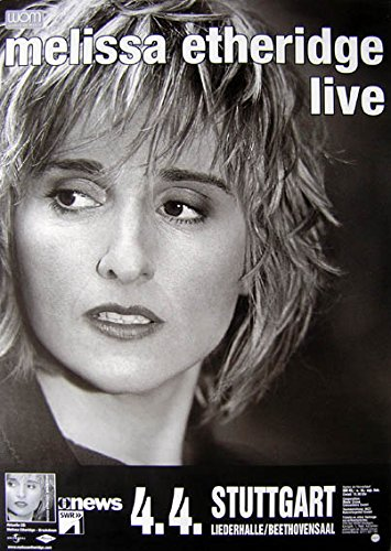 leonatica Konzertplakat Melissa Etheridge Live Stuttgart