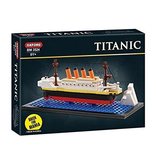 OXFORD Mini Titanic Building Block Brick Kit BM3524 by VIPZON by VIPZON