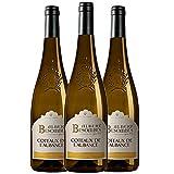 ALBERT BESOMBES Coteaux de l'Aubance Vin Blanc Moelleux AOP 75 cl - Lot de 3
