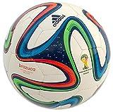 adidas Brazuca Sala5X5 Indoor Fußball, Größe 3, Herren, Brazuca Sala5X5, weiß/blau / mehrfarbig, 36