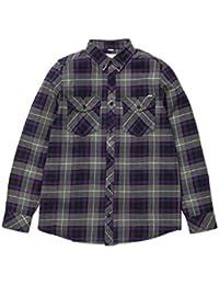 Carhartt L/S Tatum Shirt hommes, chemise , violet