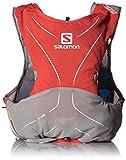 Salomon S-Lab ADV Skin 5Set Rd/Alu/Wh - Rucksack, Unisex, Rot, XL