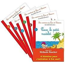 Pack 6 histoires autour de la méthode Boscher : les Aventures de Paco et Séverine