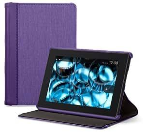 Belkin Chambray Batist-Hülle (geeignet für den neuen Kindle Fire HD 7) violett