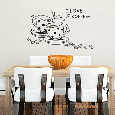 Pared Cafe Lounge restaurante está en uno de los Verdes cisternas etiqueta ''50*70cm