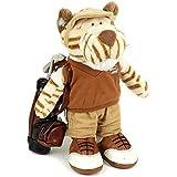 Standing Golf Tiger Rag doll 25cm